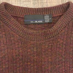 Men's Bill Blass size large heavy weight sweater